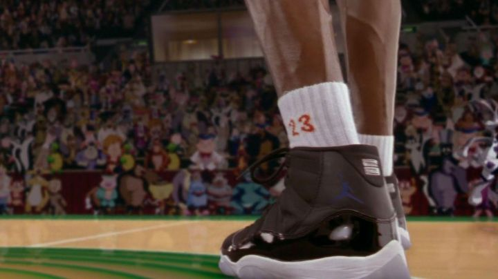 Air Jordan 11 Michael Jordan in Space Jam - Movie Outfits and Products