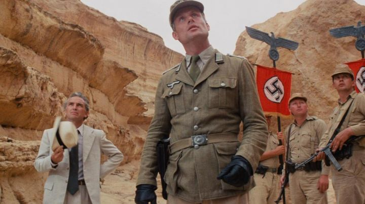 An authentic military jacket to a German soldier in raiders of the lost ark - Movie Outfits and Products