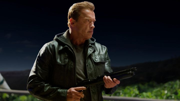 Fashion Trends 2021: Authentic leather jacket from the Guardian (Arnold Schwarzenegger) in Terminator Genisys