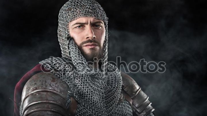 BENJAMIN GATES - CHAINMAIL COMPLETE OF THE KNIGHTS TEMPLAR