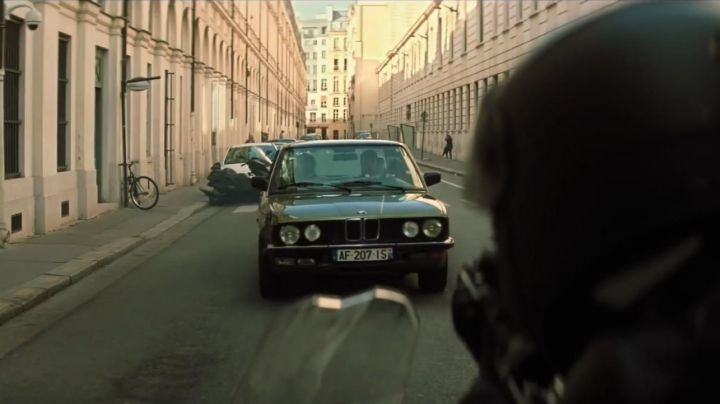 BMW 518i E28 driven by Ethan Hunt (Tom Cruise) as seen in Mission: Impossible - Fallout - Movie Outfits and Products