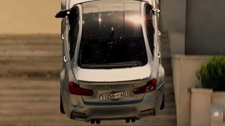 BMW F80 M3 driven by Ethan Hunt (Tom Cruise) as seen in Mission: Impossible - Rogue Nation - Movie Outfits and Products