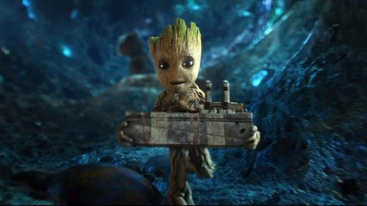 Baby Groot in guardians of the galaxy vol 2 - Movie Outfits and Products