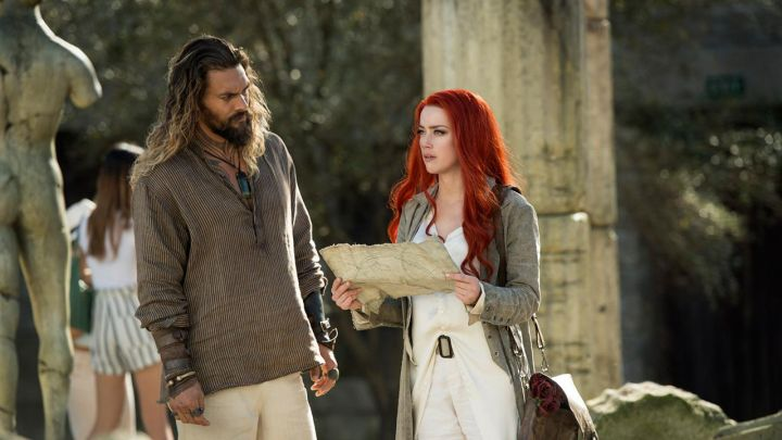 Beige Shirt & Long Cardigan worn by Mera (Amber Heard) as seen in Aquaman movie