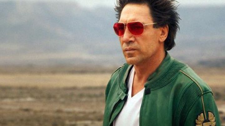Fashion Trends 2021: Belstaff green leather jacket worn by Reiner (Javier Bardem) as seen in The Counselor