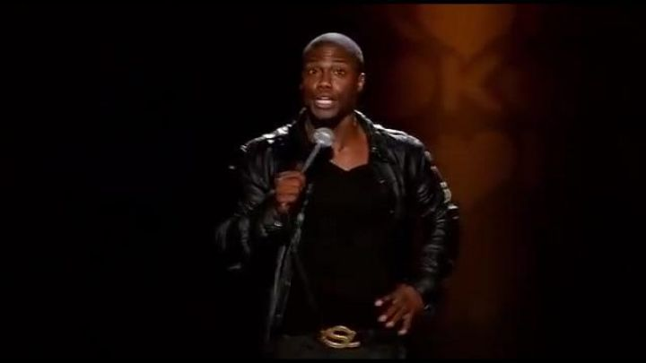 Belt Yves Saint Laurent worn by Kevin Hart in his show Seriously Funny Movie
