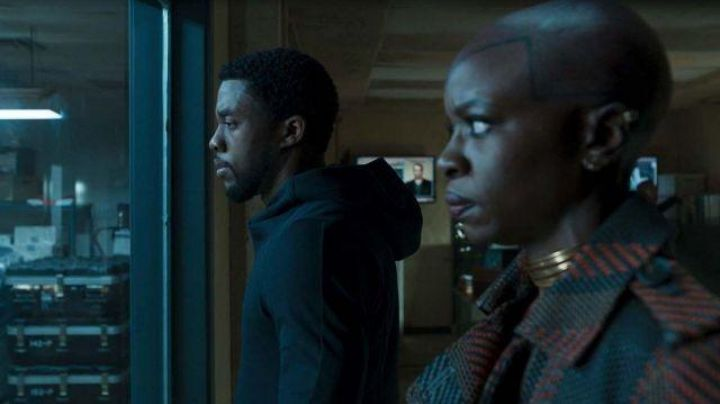 Black Hoodie worn by T'Challa (Chadwick Boseman) as seen in Black Panther - Movie Outfits and Products