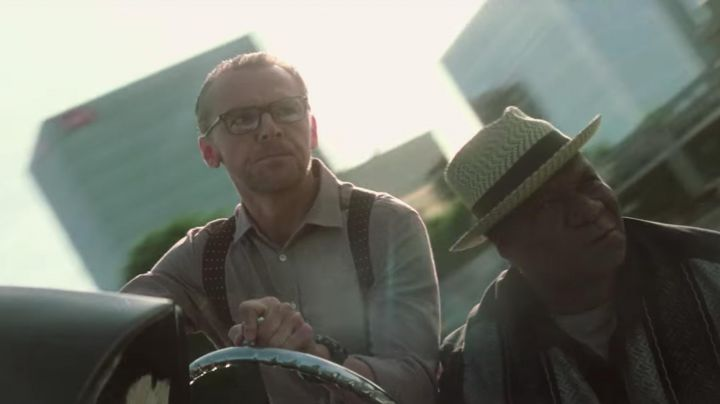 Black Polka Dot Suspenders worn by Benjamin Dunn / Benji (Simon Pegg) as seen in Mission: Impossible - Fallout Movie