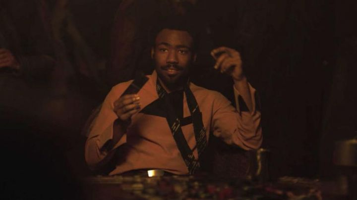 Black Tie worn by Lando Calrissian (Donald Glover) as seen in Solo: A Star Wars Story movie