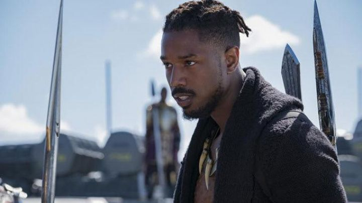 Black hooded cardigan worn by Erik KillMonger (Micheal B. Jordan) as seen in Black Panther - Movie Outfits and Products