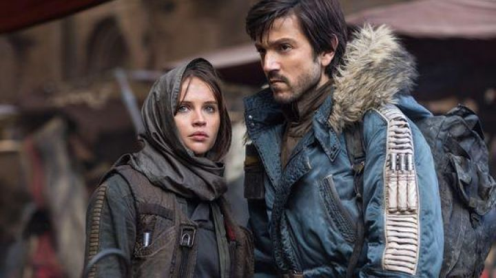 Blue Jacket worn by Cassian Andor (Diego Luna) as seen in Rogue One: A Star Wars Story - Movie Outfits and Products
