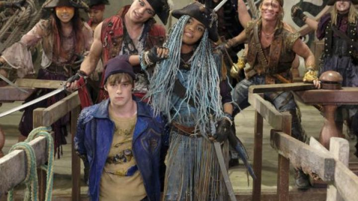 Blue Leather Jacket worn by King Ben (Mitchell Hope) as seen in Descendants 2 - Movie Outfits and Products