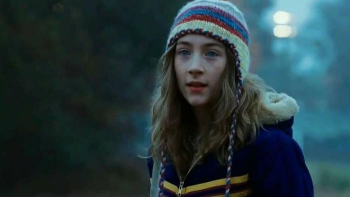 Fashion Trends 2021: Blue jacket worn by Susie Salmon (Saoirse Ronan) as seen in The Lovely Bones