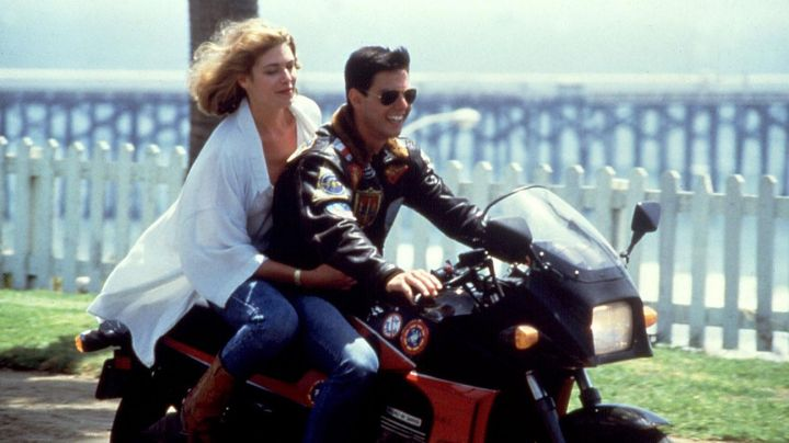 Bomber Jacket worn by Pete Maverick (Tom Cruise) as seen in Top Gun Movie - Movie Outfits and Products