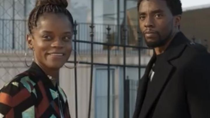 Bomber Jacket worn by Shuri (Letitia Wright) as seen in the end of Black Panther movie