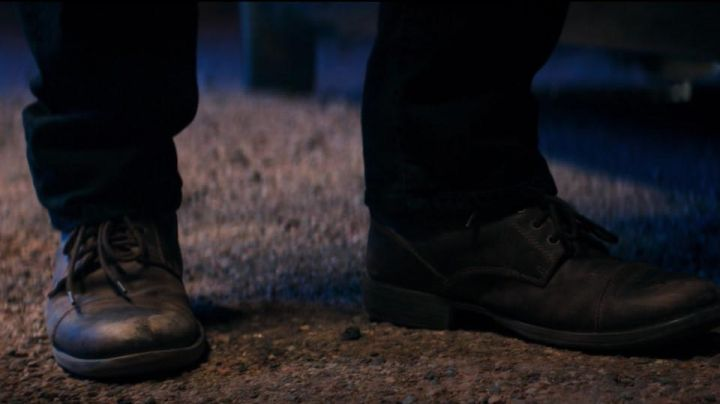 Boots Frye of Wolverine / James Howlett (Hugh Jackman) in Logan