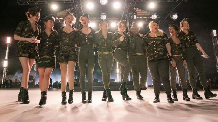 Boots military Bloch of Fat Amy / Patricia (Rebel Wilson) in Pitch Perfect 3 - Movie Outfits and Products