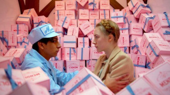 Boxes Cake MENDL'S in Grand Budapest Hotel movie