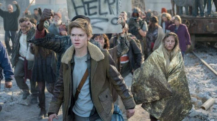 Brown Jacket worn by Newt (Thomas Brodie-Sangster) as seen in Maze Runner: The Death Cure Movie
