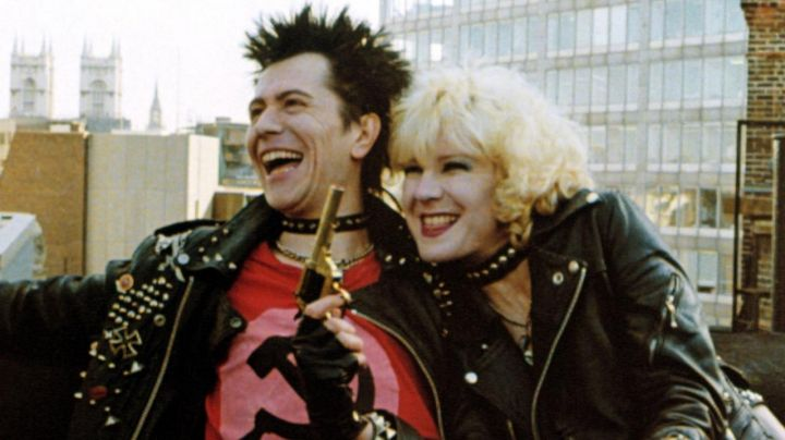 CCCP red t-shirt worn by Sid Vicious (Gary Oldman) as seen in Sid & Nancy - Movie Outfits and Products
