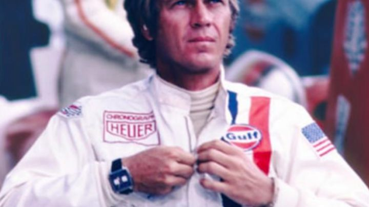 Calibre 11 Automatic Chronograph 100 M - ∅39 mm worn by Steve McQueen in Le Mans - Movie Outfits and Products