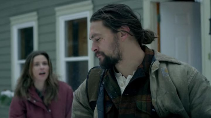Carharrt Jacket worn by Joe Braven (Jason Momoa) as seen in Braven - Movie Outfits and Products