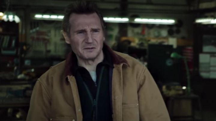Carhartt Blanket Lined Coat Jacket worn by Nels (Liam Neeson) as seen in Cold Pursuit Movie