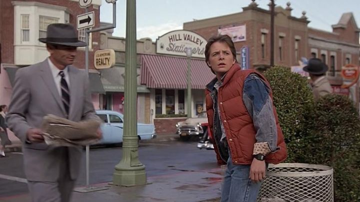 Casio CA-50 watch worn by Marty McFly (Michael J. Fox) in Back To The Future - Movie Outfits and Products