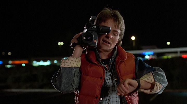 Casio CA53W Calculator Watch of Marty McFly (Michael J. Fox) in Back To The Future - Movie Outfits and Products