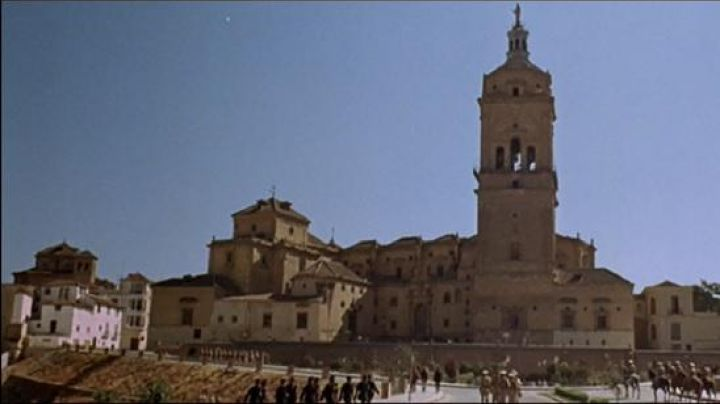 Catedral de Guadix in Spain It was a time the Revolution - Movie Outfits and Products