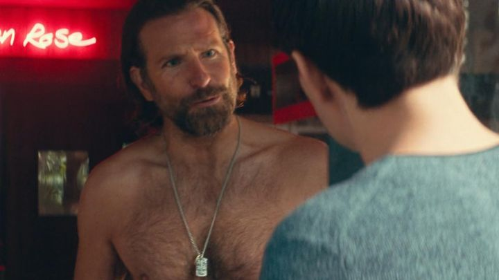 Chain Necklace worn by Jack (Bradley Cooper) as seen in A Star Is Born movie
