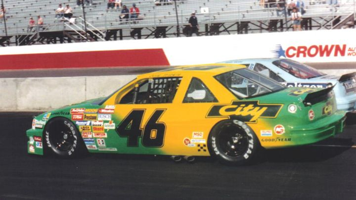 Chevrolet Lumina driven by Cole Trickle (Tom Cruise) as seen in Days of Thunder - Movie Outfits and Products