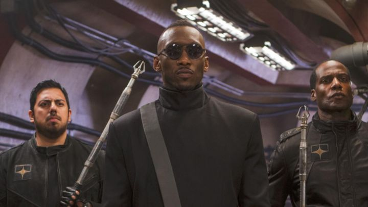 Coat worn by Vector (Mahershala Ali) as seen in Alita: Battle Angel movie