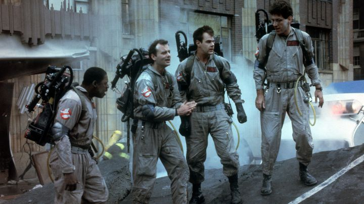 Complete Costume of Ghostbuster Dc Raymond Stantz (Dan Aykroyd) in SOS Ghosts - Movie Outfits and Products
