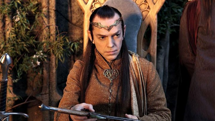 Crown worn by Elrond (Hugo Weaving) as seen in The Hobbit: An Unexpected Journey - Movie Outfits and Products