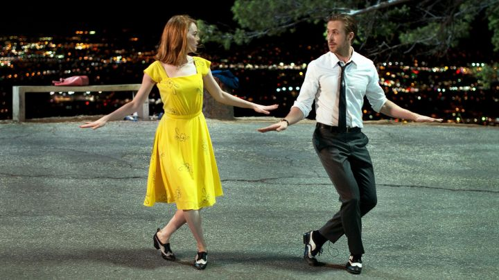 Dance shoes of Mia (Emma Stone) in the The land - Movie Outfits and Products