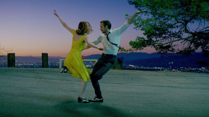 Dance shoes / tap dancing of Mia (Emma Stone) in the The land - Movie Outfits and Products