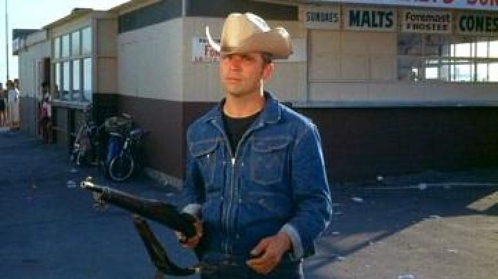 Denim Jacket worn by Billy Jack (Tom Laughlin) as seen in The Born Losers - Movie Outfits and Products