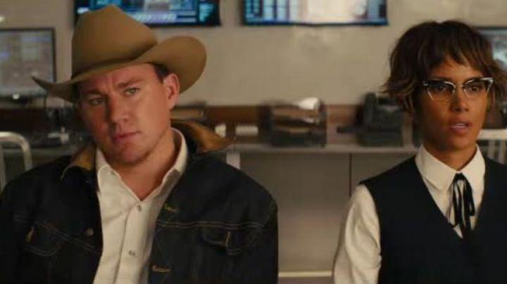 Denim Jacket worn by Tequila Agent (Channing Tatum) in Kingsman: The Golden Circle