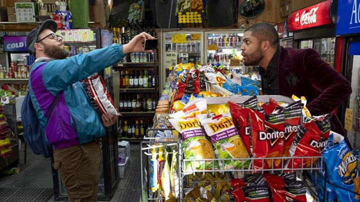 Doritos chips bought by Fred Flarsky (Seth Rogen) as seen in Long Shot Movie