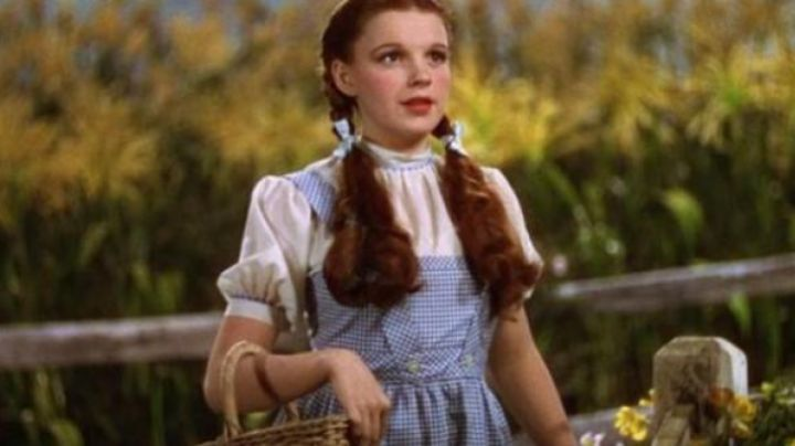 Dorothy's (Judy Garland) costume in The Wizard of Oz (1939) - Movie Outfits and Products