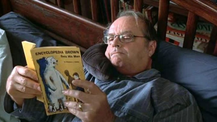 Fashion Trends 2021: Encyclopedia Brown Gets His Man read by Jack Nicholson in about Schmidt