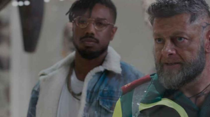 Eric Killmonger (Michael B. Jordan) Sherpa Jacket in Black Panther Movie - Movie Outfits and Products