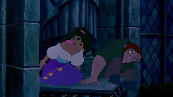 Esmeralda's costume as seen in The Hunchback of Notre-Dame - Movie Outfits and Products