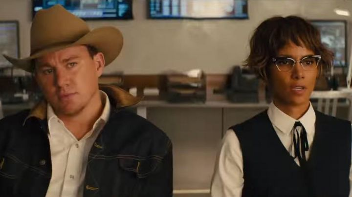 Eyeglasses Cutler and Gross of Ginger (Halle Berry) in Kingsman : The Golden Circle
