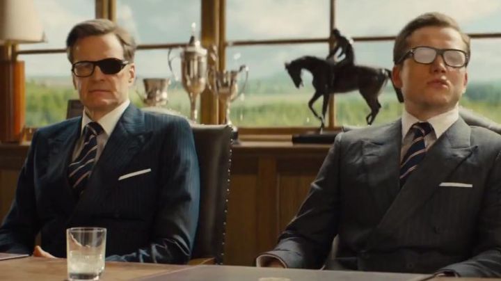 Eyeglasses Cutler and Gross of Harry Hart (Colin Firth) in Kingsman : The golden circle