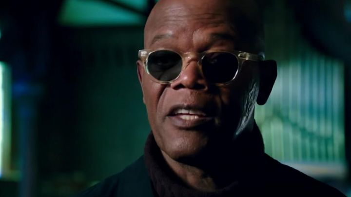 Eyeglasses transparent Augustus Gibbons (Samuel L. Jackson) XXx: Reactivated movie