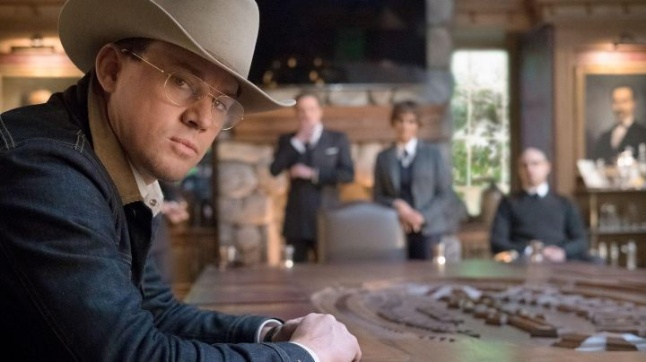 Eyeglasses worn by Tequila Agent (Channing Tatum) in Kingsman: The Golden Circle