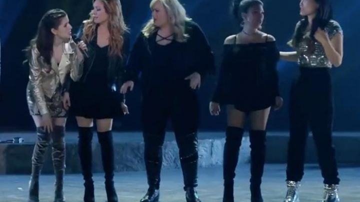 Fat Amy's / Patricia's (Rebel Wilson) Vince Camuto boots as seen in Pitch Perfect 3 Movie