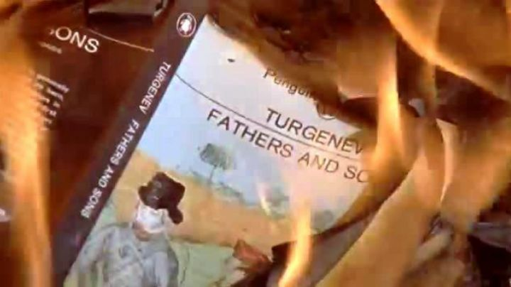 Fashion Trends 2021: Fathers and Sons of Tourgeniev seen in Fahrenheit 451